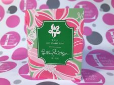LILLY PULITZER ~ WINK ~ EAU DE PARFUM~RARE/DISC/HTF ~Carded Sample 0.05 fl oz