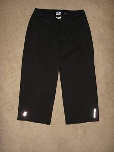 Women's Pearl Izumi Select Series Black Cycling Cropped Capri Pants Size S