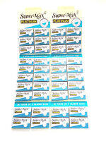 200pcs DOUBLE EDGE SAFETY RAZOR BLADES NEW HAIR REMOVAL
