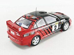 Mitsubishi Lancer EVO VI model Rally car Kataoka Hayashi 1:18th TRIPLE 9 1800210