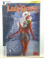 Lady Demon #1 Variant Cover Dynamite Chaos Comics CB8049