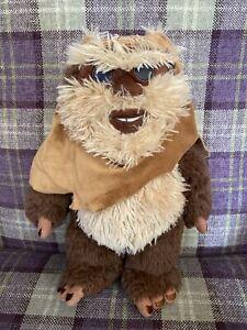 "Star Wars Disney Store Exclusive Wicket Ewok Plush Soft 13"" Toy"