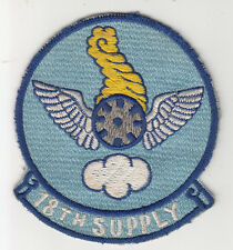 Wartime 18th Supply Patch / Aviation Insignia
