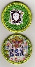 "Stamp Collecting Merit Badge, Type K, ""BSA 2010"" Back (2010-12), Mint!"
