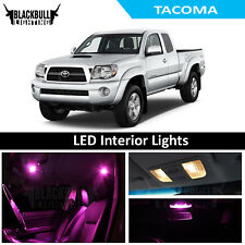 Pink LED Interior Lights Replacement Kit for 2005-2015 Toyota Tacoma 7 bulbs