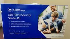 Samsung - SmartThings ADT Home Security Starter Kit - White