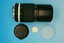 VINTAGE NIKON / NIKKOR 200MM F4 TELEPHOTO LENS - EXCELLENT