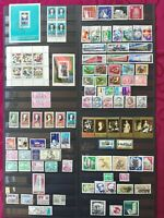 EAST GERMANY 1973: complete year - 84 stamps + 2 minisheet + 2 blocks stamps
