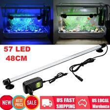 57 Aquatic Aquarium Fish Tank Lamp Super Bright Led Submersible Light Bar 48cm