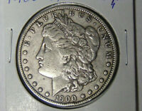 81719 AU 1900-O Morgan Silver Dollar About Uncirculated New Orleans Mint