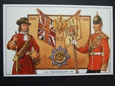 MILITARY POSTCARD - THE 22ND CHESHIRE REGIMENT TERCENTENARY-LIMITED EDITION