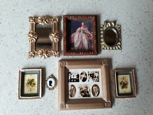 Dolls House Pictures and Mirrors