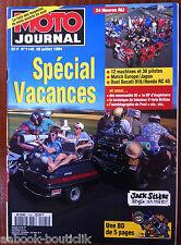 MOTO JOURNAL 28/07/1994; Spécial Vacances/ 24 Heures MJ, 12 machines et 36 pilot
