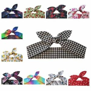 Rockabilly Hair Tie Various Designs - Head Scarf Band Wrap Self Tie 1950s Pin Up