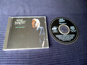 CD Hans Hartz - Halt Mich Fest   11 Songs 1989 ARIOLA Gegen Den Strom neuwertig