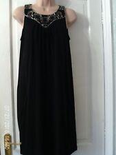 BLACK DRESS BY WALLIS, SIZE 12