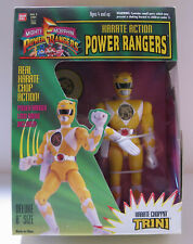 "Power Rangers - Trini - 8"" Karate Choppin W/Logo Badge"