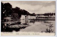 Ypres, Belgie / Belgique / Belgium vintage Postcard CPA - La Porte de Lille