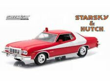 GREENLIGHT 51224 1/64 FORD GRAN TORINO STARSKY AND HUTCH CHROME / RED