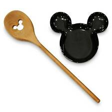 "Disney Mickey Mouse Slotted Wooden Spoon ""new"""