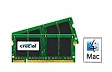 Memoria (RAM) de ordenador DIMM 200-pin 2 módulos