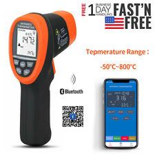 Digital Laser Thermometer Infrared Gun Non Contact Temperature Auto Bt App Meter