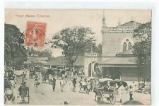 Postcard Sri Lanka, Ceylon, Colombo, Pettah Market