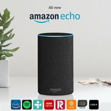 All-new Amazon Echo (2nd Generation) Charcoal Fabric Brand New Sealed