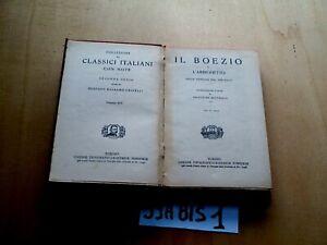 BOEZIO L'ARRIGHETTO UTET     (59ABIS1)
