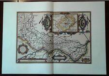 Carta geografica CREMONA E SUO TERRITORIO AGRI CREMONENSIS Ortelio 1985