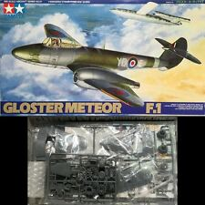Tamiya 1/48 Gloster Meteor F.1 Model Kit #61051 RAF Excellent Condition (1997)