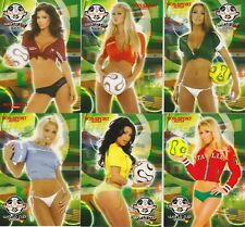 2006 BenchWarmer World Cup Complete Set of 6 Promo Cards