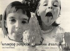 "17/7/93PGN11 ADVERT 7X10"" SMASHING PUMPKINS ALBUM SIAMESE DREAM TOUR DATES"