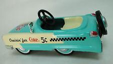 Pedal Car Eldorado 1954 Cadillac Hot Rod Vintage Classic Midget Metal Show Model