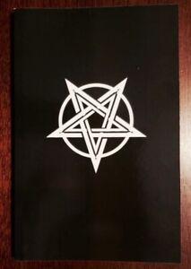 Theistic Satanic Devil Worshipping Book: Temple of Satan - White Pentagram Book