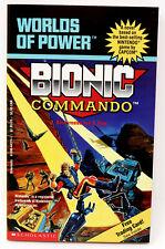 BIONIC COMMANDO: WORLDS OF POWER #6 SCHOLASTIC 1991 PAPERBACK BOOK NINTENDO NES