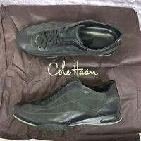 Cole Haan Air Granada Sport driving shoes Mens Size 9 W Black EUC Retail $165