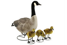 Mother Goose Pack (1 adult, 3 goslings) - Yard Ornament Garden Decor
