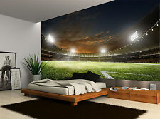 Football Soccer Arena Stadium Lights Wall Mural Photo Wallpaper GIANT WALL DECOR