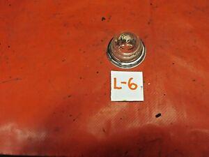 """MG, Triumph, Austin Healey, Liucas Glass """"Bee Hive"""" Clear Lens & Chrome Ring, !!"""