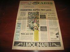 STADIO SPORT 2/11/1974 - Fiorentina Napoli Pro Lazio. Altafini. Bettega. Mazzone