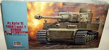 hasegawa 1/72 PzKpfw VI TIGER I Ausf E HYBRID WWII TANK