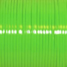 100 YARDS (91m) SPOOL APPLE GREEN REXLACE PLASTIC LACING CRAFTS CYBERLOX