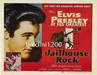 ELVIS PRESLEY - JAILHOUSE ROCK - HIGH QUALITY VINTAGE MOVIE/MUSIC POSTER