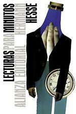 Lecturas para minutos. NUEVO. Nacional URGENTE/Internac. económico. ENSAYOS