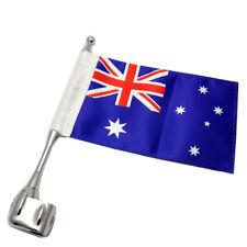Motorcycle Australia AU Flag Pole Luggage Rack For Honda Goldwing GL1800 01-11