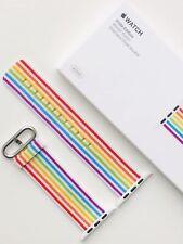 Apple Watch 2018 Pride Edition Woven Nylon Strap Band - 42mm/44mm - *RARE*