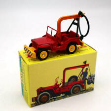 Atlas Dinky Toys 1412 JEEP DE Depannage Truck Diecast Models Car Collection Red