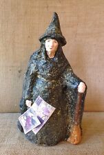 TEENA FLANNERS HALLOWEEN PAPER MACHE WITCH from SEASONS