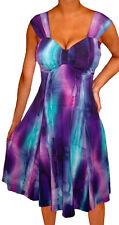 PX2 Funfash Plus Size Clothing for Women Empire Waist Cocktail Dress 1X 18 20
